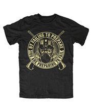Tops Summer Cool Funny T-Shirt Prepper 2 Apokalypse,Survival,Schutz,Katastrophe,Krise,Zombie,Jagd,Hunt Style Tee