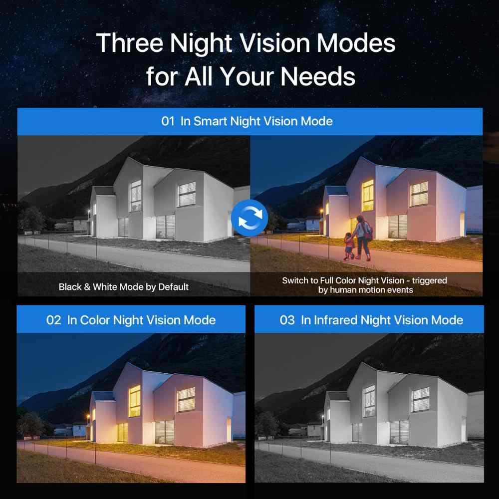 ZOSI 1080P Spotlightกลางแจ้งWiFiกล้องH.265 กันน้ำAI Human Detection Night Vision 2-Way Audioไร้สายIP Cam