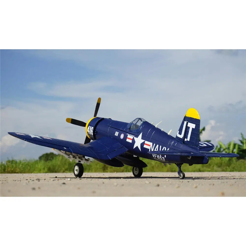 Hookll F4U Warbird 1200mm Wingspan EPO RC Airplane KIT/PNP With Retractable Landing Gear Aircraft Plane RC Outdoor Toys for Kids image