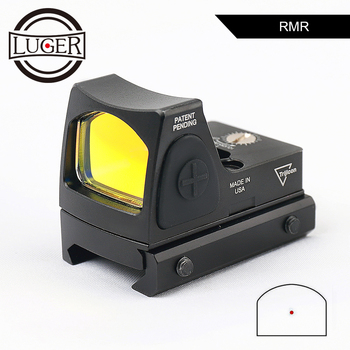 RMR Red Dot Sight Scope Collimator Glock Reflex Sight Hunting Scope Holographic Sight Rifle Scope for Airsoft Gun Hunting on scope