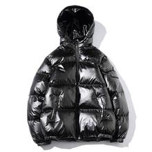 2019 Women's Down Jacket Winter Glossy Silver/Black/Gold/Blu