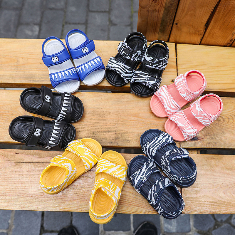 2019 Summer New Style CHILDREN'S Shoes Anti-slip Soft-Sole Men And Women Children Baby Sandals Casual Outdoor Kids Beach Shoe