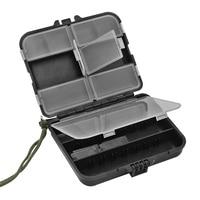Zestaw narzędzi akcesoria wędkarskie pudełko do przechowywania na zewnątrz wodoodporne plastikowe pudełko śruby sprzętu do przechowywania pudełko komponentów w Skrzynki na narzędz. od Narzędzia na