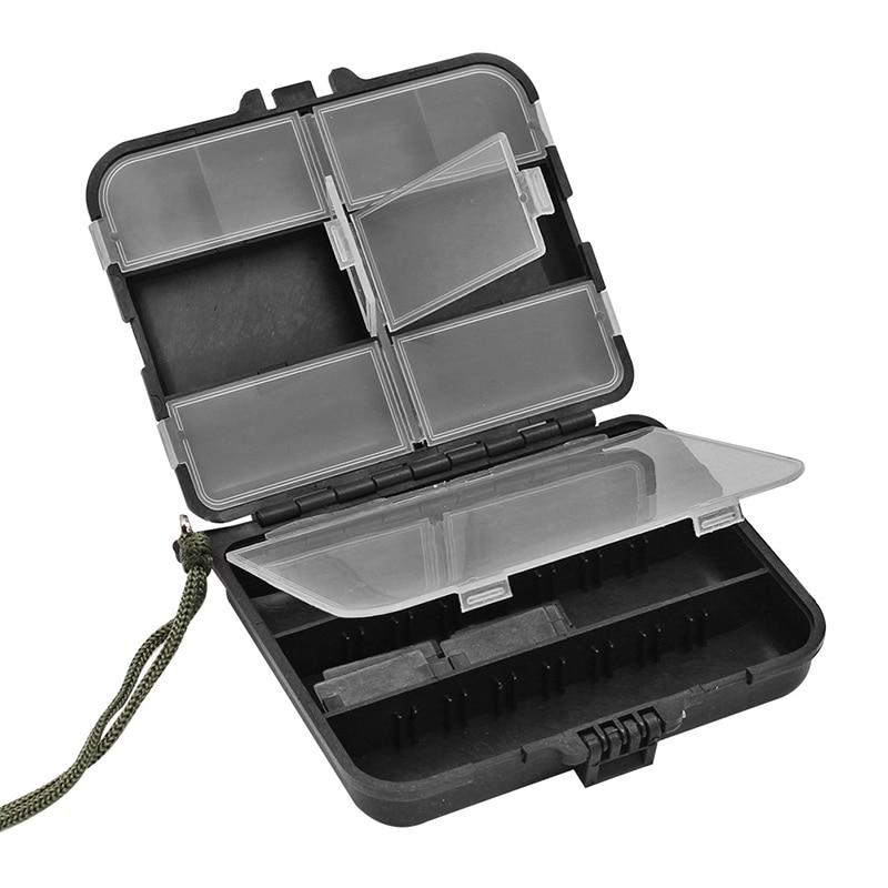 Toolbox Fishing Accessories Storage Box Outdoor Waterproof Plastic Box Screw Hardware Storage Case Components Box