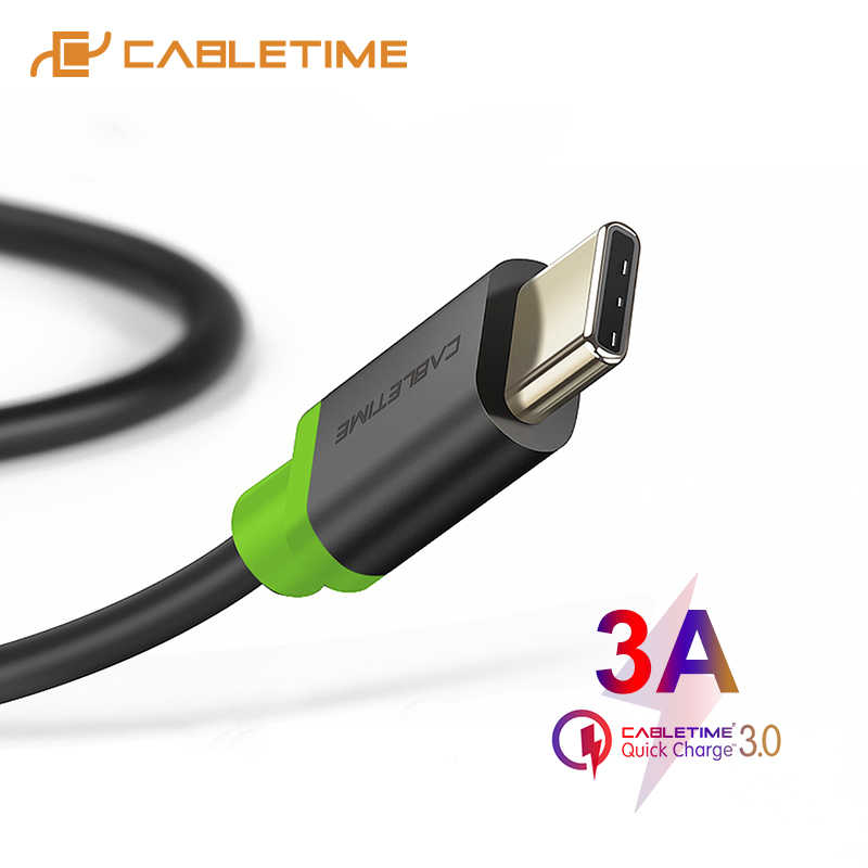 Кабель usb type-C 3A кабель передачи данных для быстрой зарядки для samsung Galaxy S9 Plus Note 9 Xiaomi Oneplus 6 USB C 3,1 C001