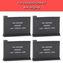 Nieuwe 1630Mah Batterij Pack Voor Insta360 Een X2 Oplaadbare Lithium Batterij Insta 360 X2 Snelle Lading Hub Accessoires