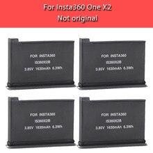 Nueva 1630mAh Paquete de batería para Insta360 una X2 recargable de la batería de litio Insta 360 X2 carga rápida Hub