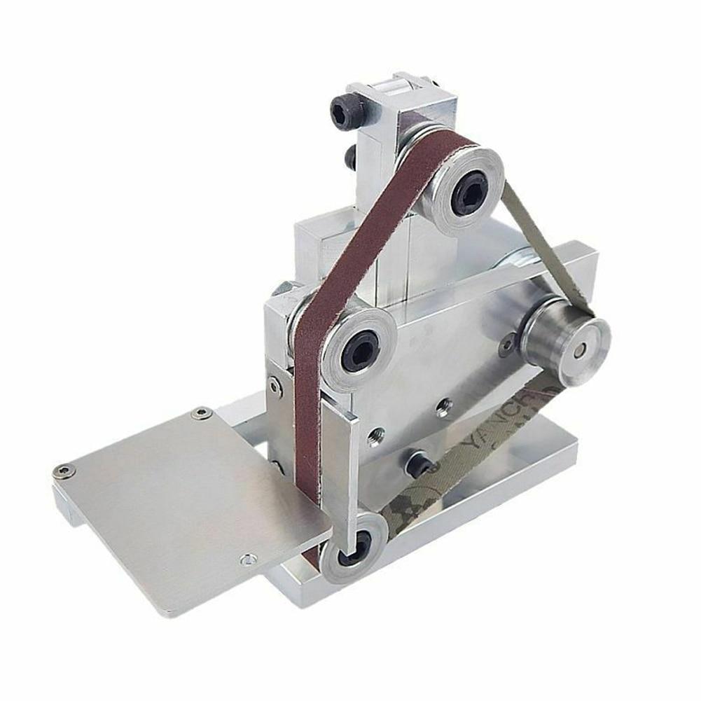 Adjustable Angle Sharpening Abrasive Machine Tools With Sanding Bands Mini Sander Edges DIY Polishing Cutting Electric Grinding