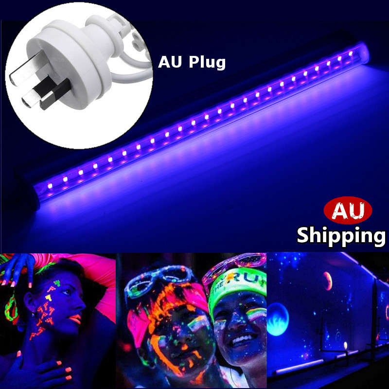 5W AU Plug UV Tube Light LED Black Light Bar Effect Light Stage Lamp For Party Performance Festival Atmosphere Decorations