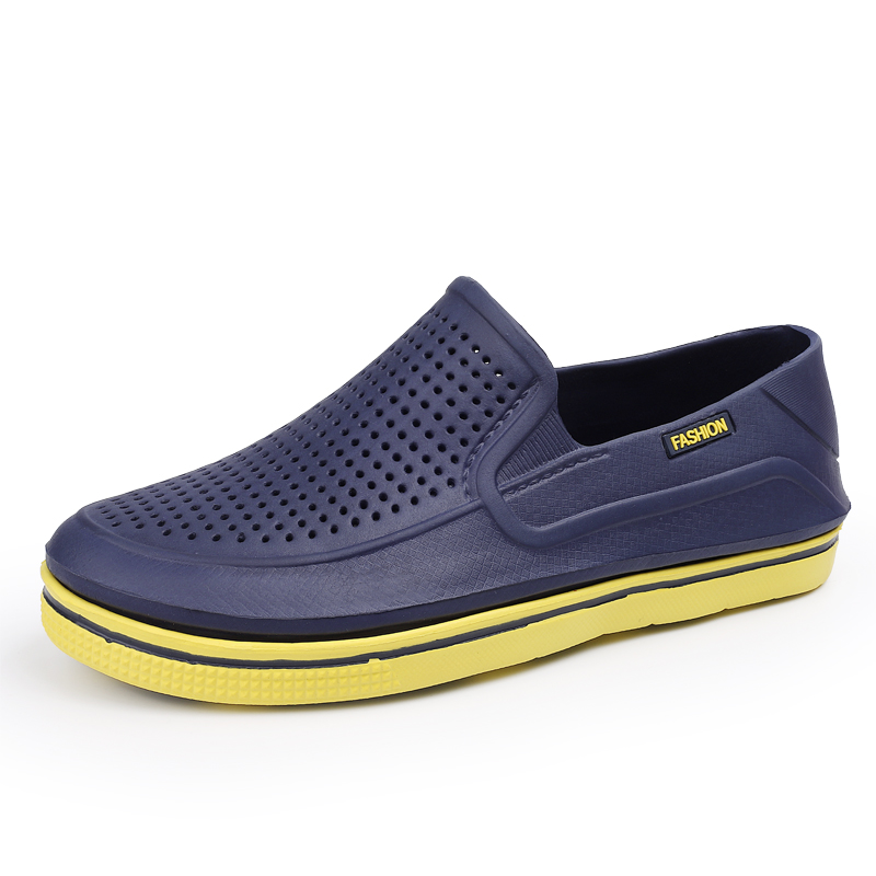 2020 New Mens EVA Sandal Cave Shoes Double Color Garden High Quality Breathable Clogs Lightweight 6 Colours