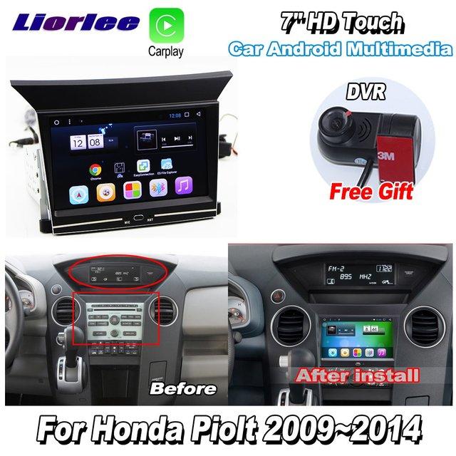 Car Multimedia Player For Honda Pilot 2009 2014 Accessories Radio Android Streen Screen Carplay GPS Navi maps Navigation System