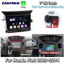 Car Multimedia Player Per Honda Pilot 2009 2014 Accessori Radio Android Streen Schermo Carplay GPS Navi mappe Sistema di Navigazione