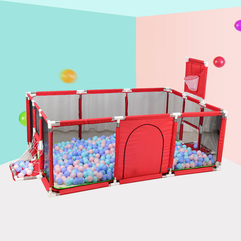 Baby Playpen For Children Pool Balls For Newborn Baby Fence Children Kids Safety Barrier Play Yard Infant Indoor Football Field