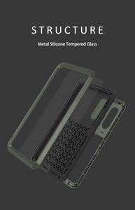 Image 5 - Coque de protection complète antichoc 360 ° pour Samsung Galaxy A51 A71 A50 A70S A90 5G A40S A30S, protection antichoc en aluminium