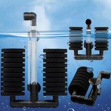 New Practical Aquarium Biochemical Sponge Filter Fish Shrimp Tank Air Pump Drop Shipping