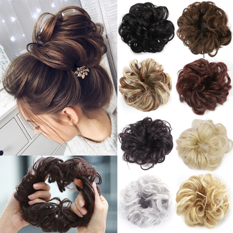 38Colors New Hair Rope Easy-To-Wear Stylish Hair Circle Women Girls Hairbands Elastics Scrunchie Hair Accessories