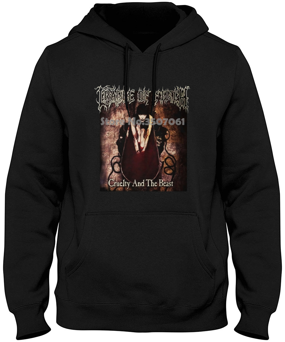 Cradle Of Filth Cruelty & The Beas S M L Xl Metal Official Oversized Hoodies & Sweatshirts