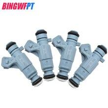 4 adet OEM 0280155929 yakıt enjektörleri için Chevrolet ASTRA Z AFIRA 1.8L 2.0L 1998 2004
