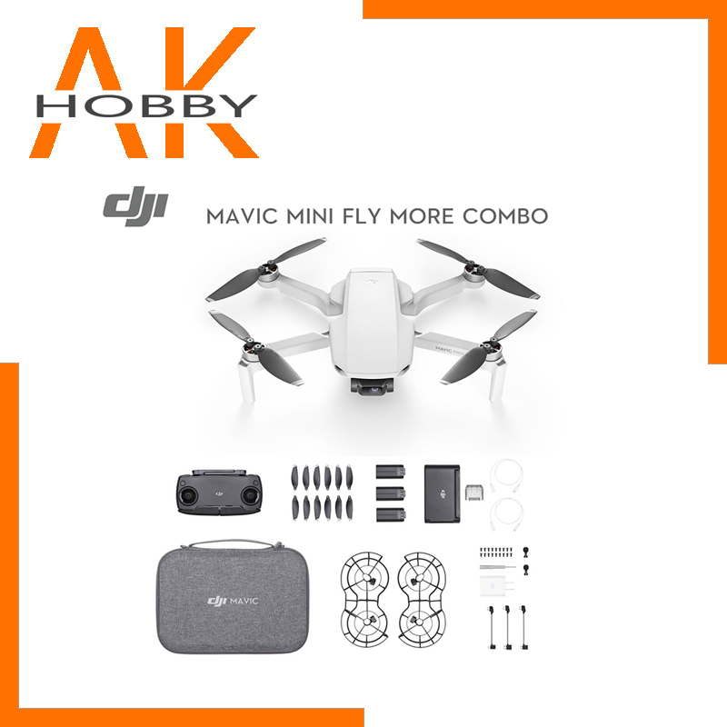 New Arrival DJI Mavic Mini FLy More Combo Drone With 2.7k Camera Flight Time 30 Minutes FCC Version MT1SS5 For DJI Mavic Mini
