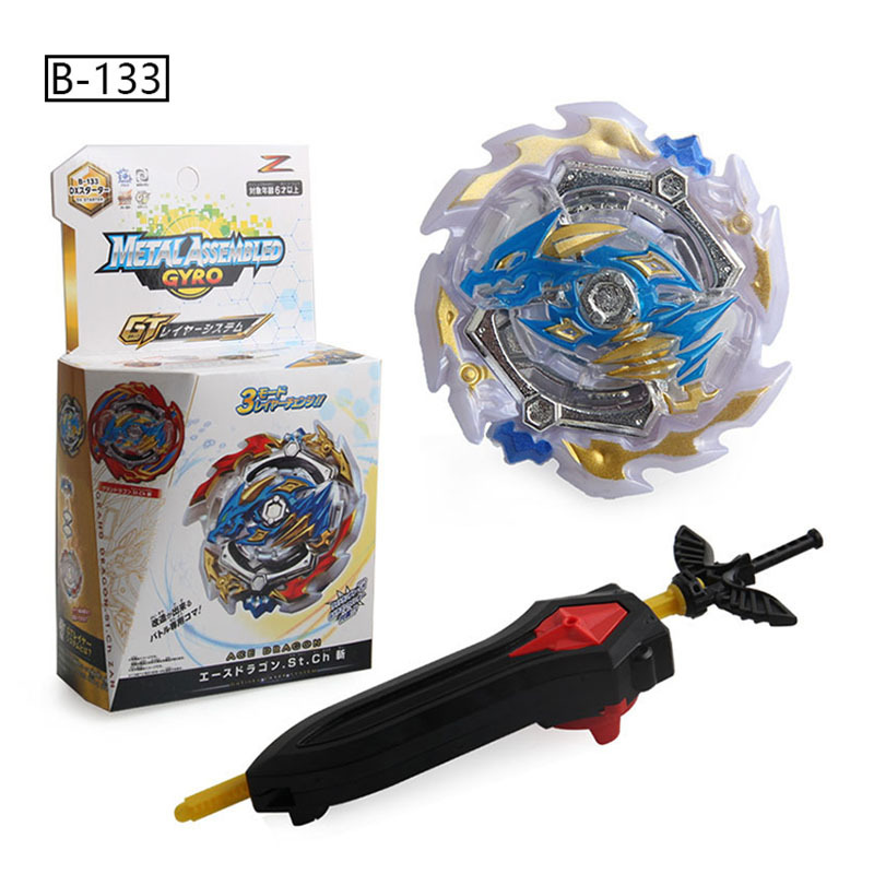 Burst Generation Spinner Burst GT <font><b>B</b></font>- <font><b>133</b></font> Ace Dragon <font><b>Beyblade</b></font> Spinner Battle Alloy Gyro Toy image