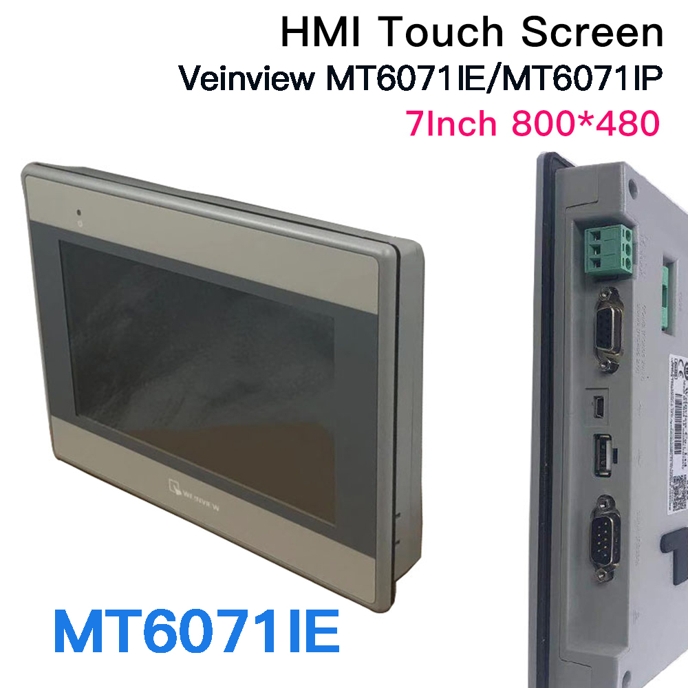 7'' Inch Weinview/Weintek MT6071IP  MT8071IP MT6071IE MT8071IE 800*480 HMI Touch Panel Human Machine Interface LED Screen