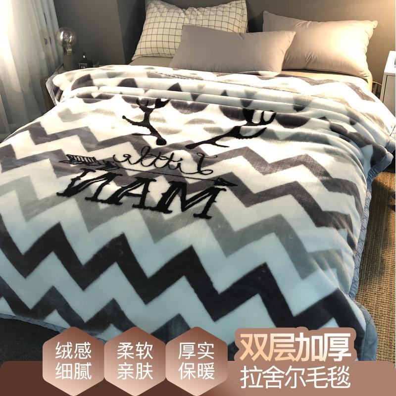 Nouveau Design Raschel couvertures pour enfant dessin animé couverture jeter couverture de haute qualité literie épais chaud sur le canapé lit CF