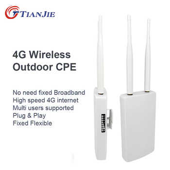 TIANJIE CPE905 Smart 3G 4G WIFI Router Home hotspot 4G RJ45 WAN LAN WIFI modem Router CPE 4G WIFI router with sim card slot - DISCOUNT ITEM  40% OFF All Category