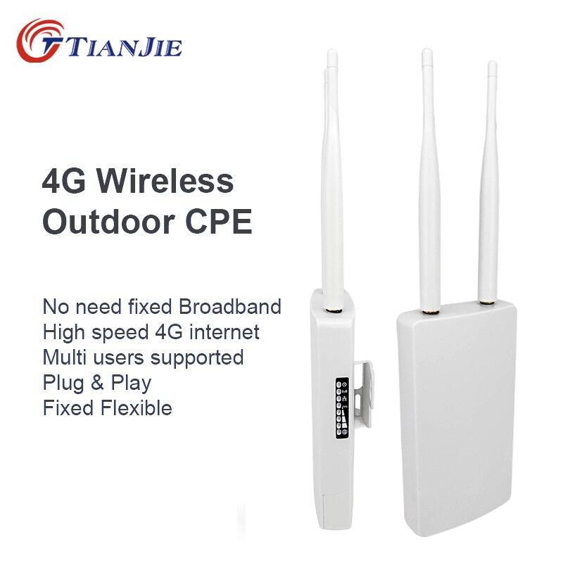 TIANJIE CPE905 Smart 3G 4G WIFI routeur maison hotspot 4G RJ45 WAN WIFI modem routeur CPE 4G WIFI routeur avec fente pour carte sim
