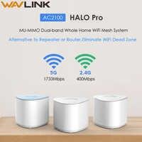 Wavlink bezprzewodowy siatki router wi-fi 2.4GHz 5.0GHz AC2100 MU-MIMO Dual-Band w całym domu Mesh WiFi repeater bezprzewodowy wzmacniacz sygnału wi-fi
