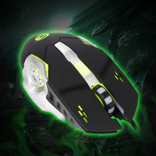 3200 DPI 6D Buttons LED Wired Gaming Mouse For PC Laptop(China)