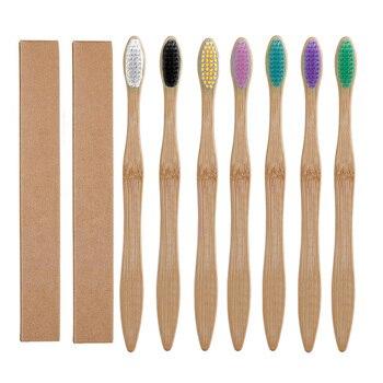 Cepillo De Dientes de Madera de Bambú