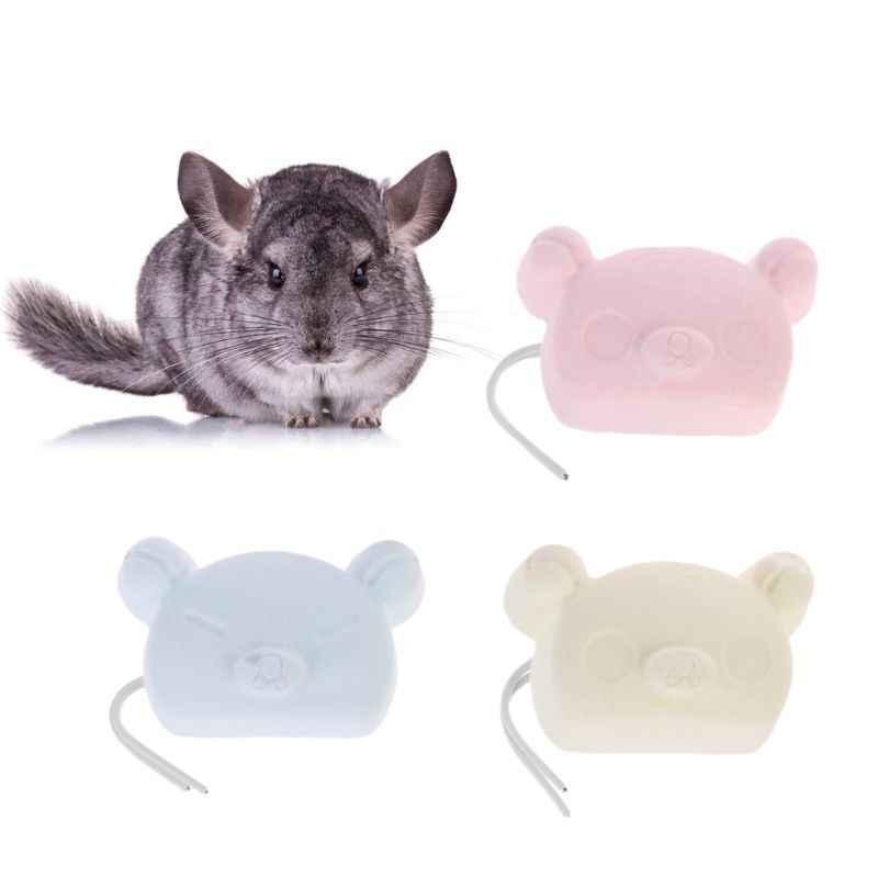 קטן לחיות מחמד אוגר ארנב ללעוס צעצוע צ 'ינצ' ילה ציפור שיניים שחיקה אבן 85WC