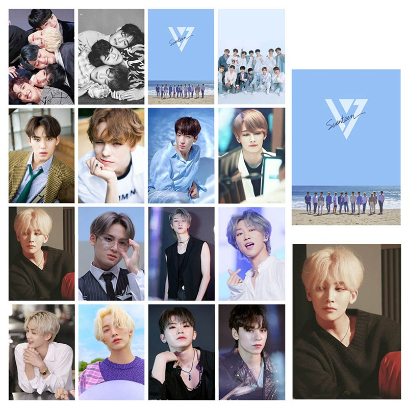 16 Sheets / Set Of KPOP Seventeen Album