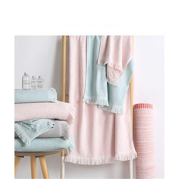 NEW Top quality fringed jacquard bath towel, five star hotel cotton , adult men's and women's family hotel bath towel