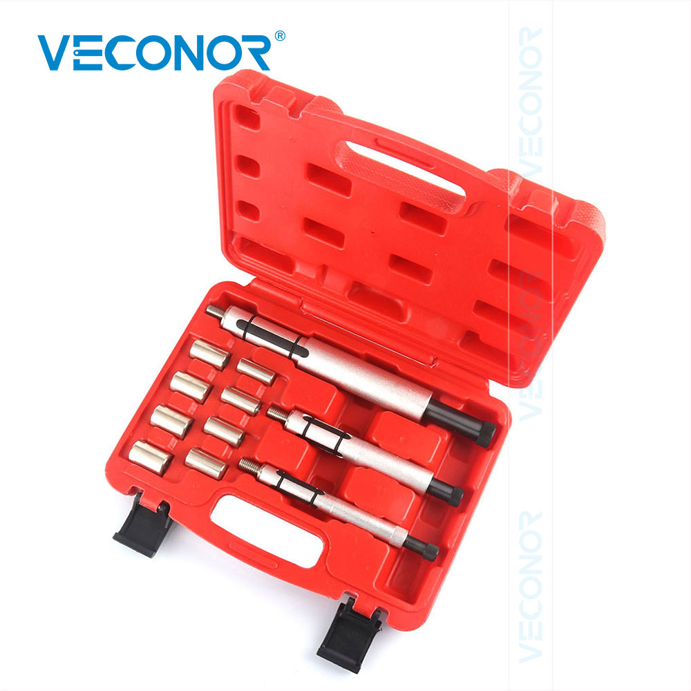 <font><b>11</b></font> Pieces Clutch Centering Shaft Alignment Tool Kit Clutch Installation Demount Tool Clutch Hole Correcting Tool with Case image