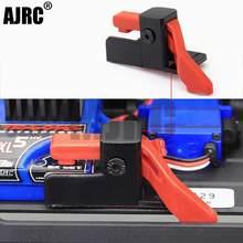 AJRC nowy Traxxas TRX4 Defender ESC łatwy Start wyzwalacz wyłącznik zasilania dla 1/10 gąsienica RC ulepszenie samochodu TRX-4
