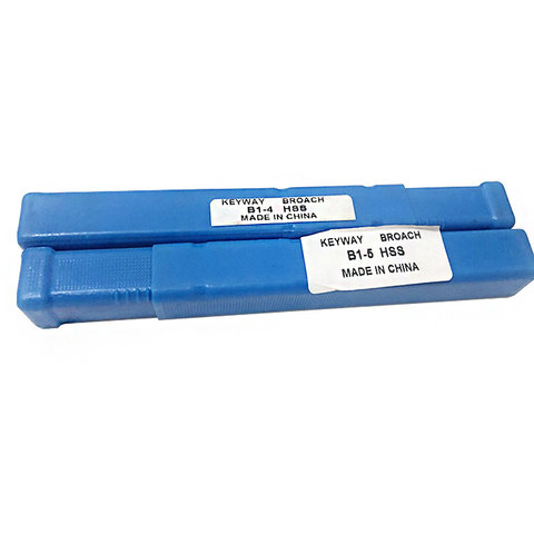 Ferramentas de Keyway para Cnc b1 tipo Push tipo Teclas Máquina Ferramenta 4mm 5mm Hss Mod. 134188