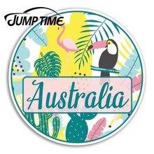 Czas skoku Australia naklejki winylowe Tropical Oz naklejka Laptop bagaż naklejka okno samochodowe Car Wrap akcesoria samochodowe