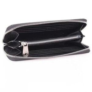 Image 2 - Brand Man Luxury Long Zipper Wallet Genuine Leather City Jogging Bags