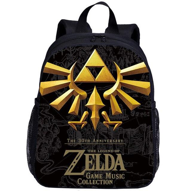 13/'/' Game Zelda Children Small Schoolbag Kindergarten Backpack Boys Girls Gifts