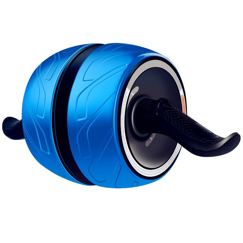 Equipo de Fitness equipo para ejercicio muscular Home Ab rodillos de una rueda Abdominal Power Wheel gimnasio rodillo Abs entrenamiento - 5