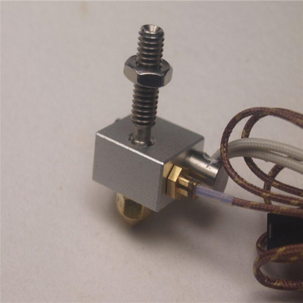 Kit de tête d'impression chaude avec coupleur de chauffage Tube chauffant galvanique pour réplicateur Makerbot 2 accessoires d'imprimante 3D