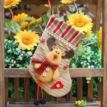 Tuch Shop Weihnachten Socken Weihnachten Stocking Best Beliebte Zarten Geschenk Tasche Weihnachten Lager Weihnachten Stiefel Hängen Markt