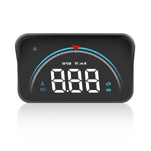 Image 4 - M8 HUD Head Up Display Car styling Hud Display Car speedometer Overspeed Warning Windshield Projector Alarm System obd2 display