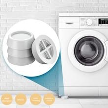 Mat Washing-Machine Rubber Non-Slip 4pcs Refrigerator-Chair Shock-Absorbing-Pads Desk-Feet