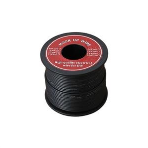 Image 3 - 60m רך סיליקון מבודד UL3132 22 AWG חוט חשמל משומר תקועה חוט למערכת 300V 6 צבעים עבור DIY צעצועי מנורה