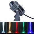 Уличный светодиодный прожектор 3 Вт 10 Вт  Светодиодный точечный светильник ing узкий угол настенная шайба ландшафтный светильник ing AC100 240V DC12V