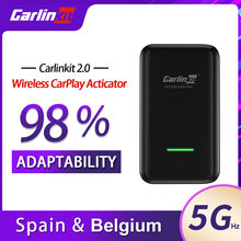 Carlinkit 20 carplay беспроводной для porsche panamera macan
