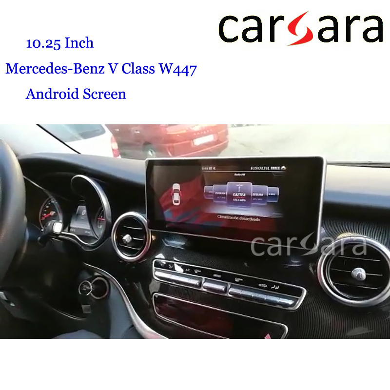Ben z V Class <font><b>W447</b></font> <font><b>Android</b></font> Sound System Navi Update Touch Screen Merce des 10.25