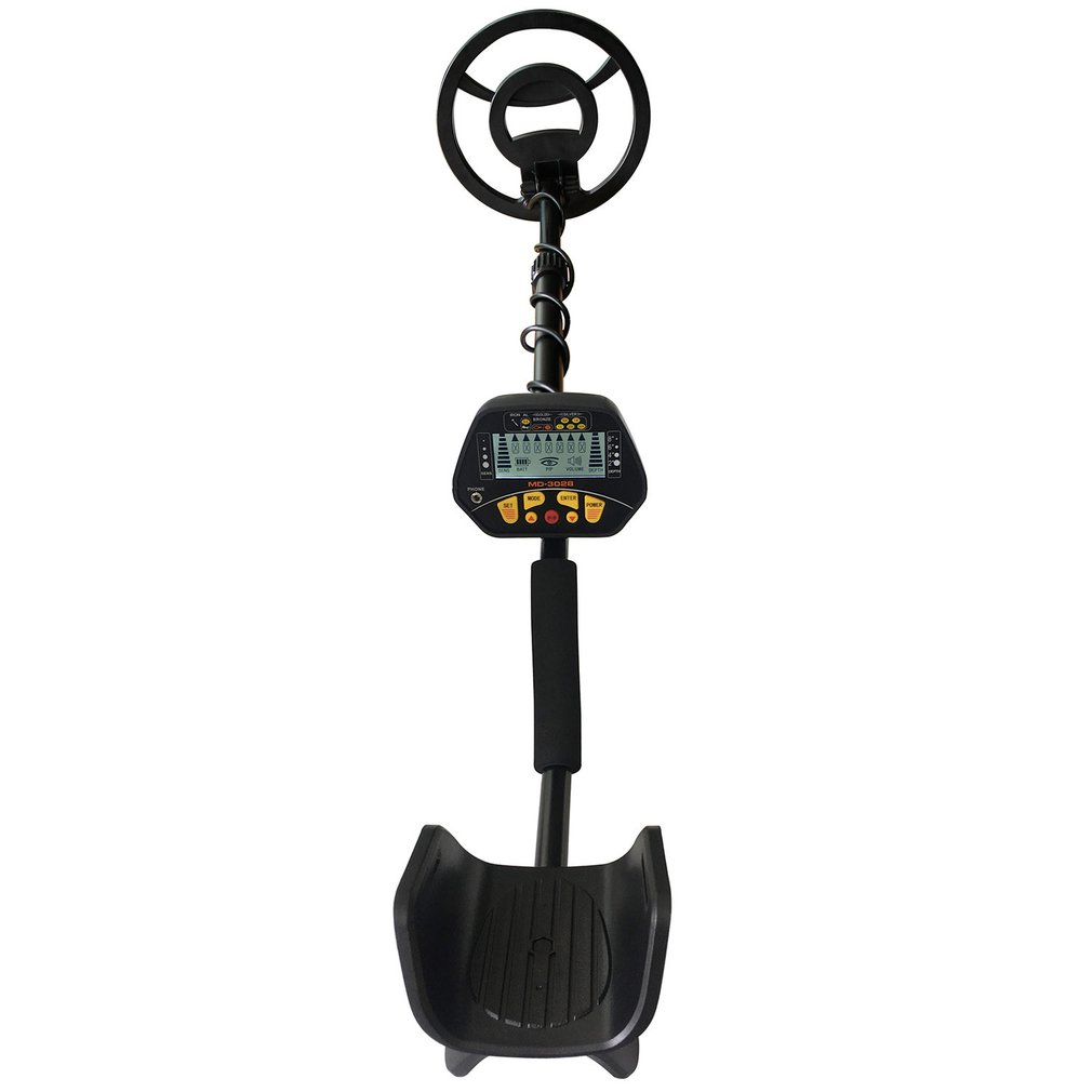 Detectors Pinpointing LCD MD-3028 Waterproof-Coil Metal Underground Portable High-Sensitivity title=